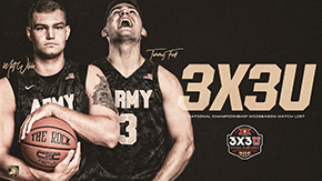 Two Cadets Named to 3X3U National Championship Midseason Watch List