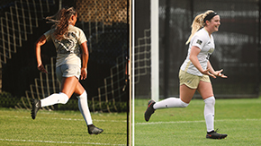 Two from Women's Soccer Earn Weekly Patriot League Honors