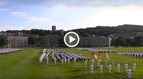USMA 2024 Takes the oath on the Plain