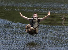 USMA '23 CFT Water Confidence Course