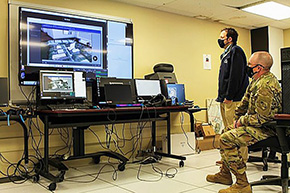 Virtual Reality Technology Enhances Small Unit Tactics