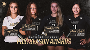 Volleyball Places Four on All-Patriot League Teams