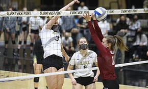 Volleyball Tops Colgate, 3-0