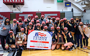 Volleyball Wins Patriot League Championship