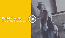 Welcoming USMA 2024 to the Corps