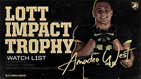 West Named to Lott IMPACT Trophy Watch List