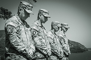 West Point NCO's Inducted in the Sergeant Audie Murphy Club