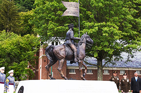 West Point Unveils Buffalo Soldiers Monument