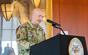 West Point Welcomes CSM Coffey