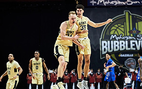 Win Over Buffalo Lifts Men's Basketball to First 3-0 Start in Five Years