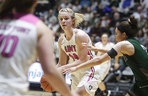 Women's Basketball Beat Loyola Advance to Quarterfinals