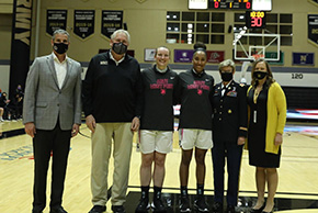Women's Basketball Wins on Senior Day and Magarity's Final Home Game