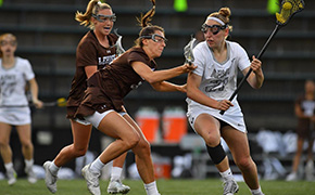 Women's Lacrosse Falls in Hard-Fought Semifinal Matchup with Lehigh