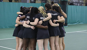 Women's Tennis Closes Out Regular Season on a High Note