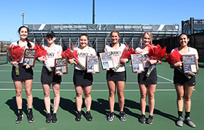 Women's Tennis Defeats Binghamton on Senior Day
