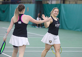 Women's Tennis Earns Two League Wins