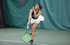 Women's Tennis Shuts Out Colgate In First Patriot League Contest