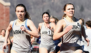 Women's Track Finishes Second at UConn Spring Invite