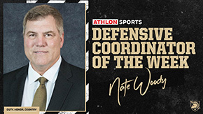 Woody Named Athlon Sports Defensive Coordinator of the Week
