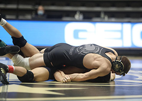 Wrestling Picks Up Two Point on the Road