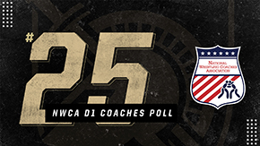 Wrestling Ranked No. 25 in NWCA Division I Coaches Poll
