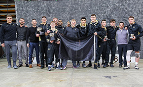 Wrestling Tournament Second Highest Point Total In Program History
