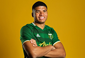 McGraw '20 Signed by Portland Timbers