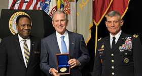 2017 Thayer Award Presented to Former President George W. Bush