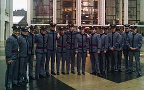 Russian Cadets in NYC for the Opera