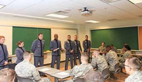 CDTs across all 4 classes lead group QnA sessions with CDT candidates at USMAPS