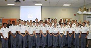 Cadets visit Burke Rehabilitation Hospital and Burke Medical Research Institute