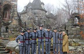 CDTs visit Wings Castle in Millbrook NY