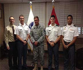 Mr. Hunter CDT Cupp BG Charlton CDTs Rapuano and Hilario