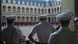 CDTs attending SAP at the French Military Academy