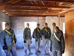 CDTs laboratory exercise at Camp Shea