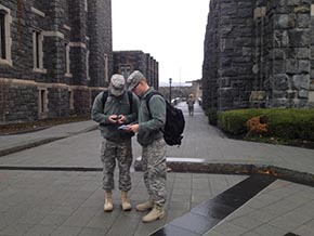 Cadets Test GPS Projects