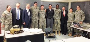 New York County District Attorney visits West Point
