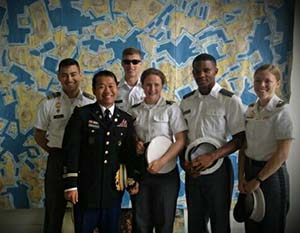 MAJ Lay Phonexayphova and CDTs at the Gowanus Open Studios