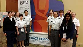 Cadets Attend 2014 Grace Hopper Conference