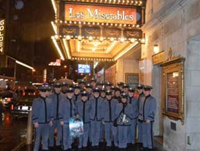 The French Forum goes to Les Miserables on Broadway