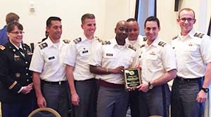 LTC Schott CDTs Glenn-Sostak-Waruinge-Lewis-Soncini and Utter receive the Founders Award