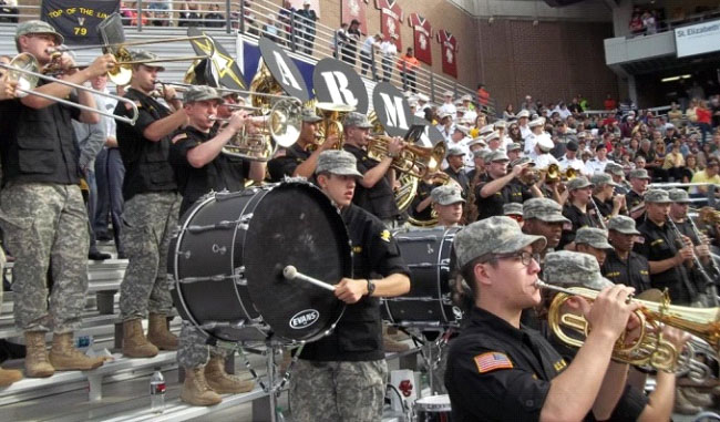 Spirit Support Group completed its mission of motivating Army and Boston College fans at the Boston College Homecoming game.