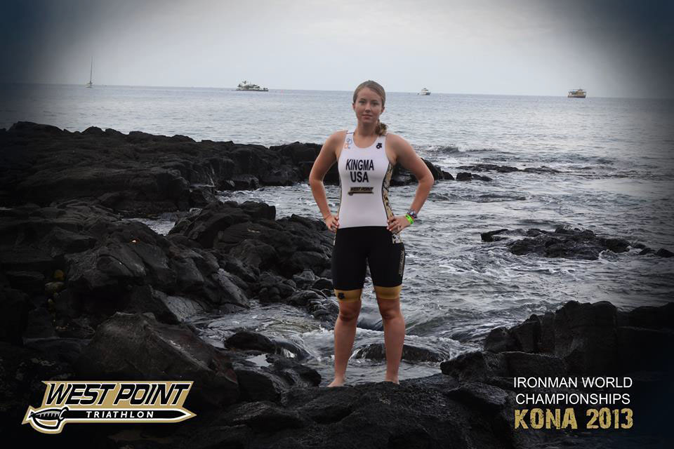 CDT Kelly Kingma competed in the Ironman World Championships in Kona, Hawaii.
