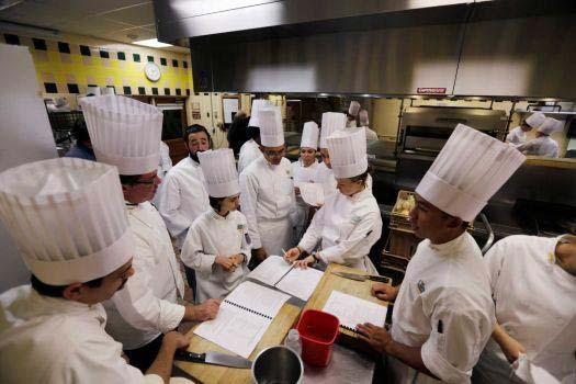 cadets from XH407 visit the Culinary Institute of American