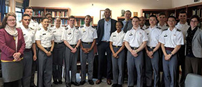 Ta-Nehisi Coates Speaks with Cadet Fellows