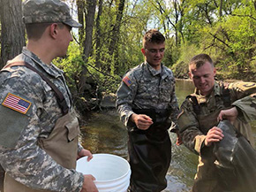 Cadet Research with NY Dept of Environmental Conservation