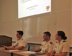 Cadets Present at UCONN Conference