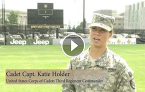 Key Leader Features Cadet Capt. Katie Holder