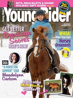 Young Rider Cover Nov 2014