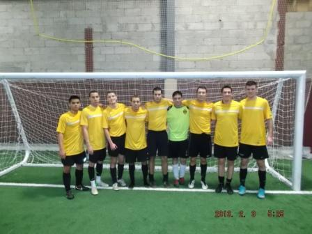 The Portuguese Language Club competed in the 15th Annual Philadelphia Flames Soccer Club Indoor Tournament